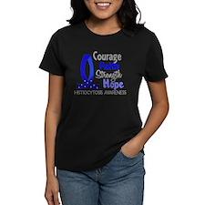 Histiocytosis Courage Faith 1 Tee
