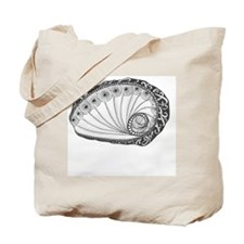 Abalone Seashell Beach Art Tote Bag