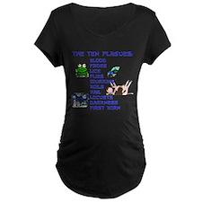 The Ten Plagues Maternity T-Shirt