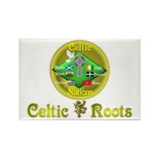Celtic Roots.:-) Rectangle Magnet