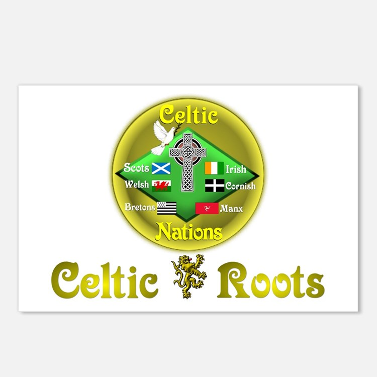 Celtic Roots.:-) Postcards (Package of 8)
