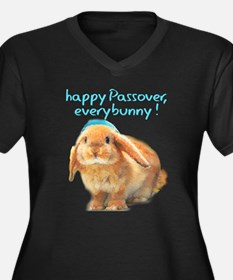 happy-Passover.png Plus Size T-Shirt