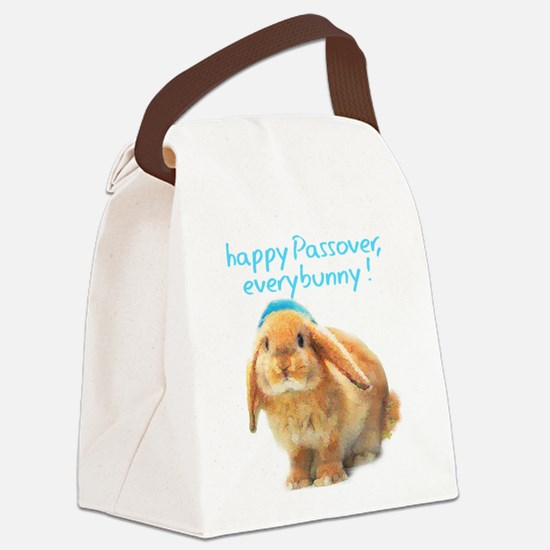 happy-Passover.png Canvas Lunch Bag