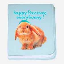 happy-Passover.png baby blanket