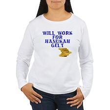 Will work for Hanukah T-Shirt