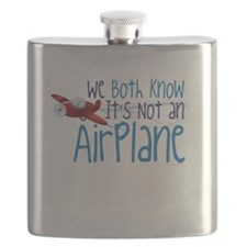 We Both Know Its Not An Airplane-01 Flask