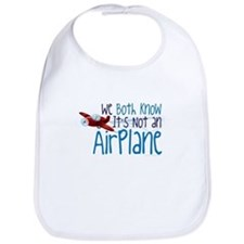 We Both Know Its Not An Airplane-01 Bib