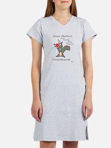 Cute Comedy squirrels Women's Nightshirt