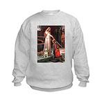 The Accolade Bull Terrier Kids Sweatshirt