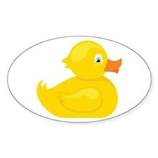 Squeaky Duck Decal