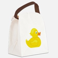 Squeaky Duck Canvas Lunch Bag