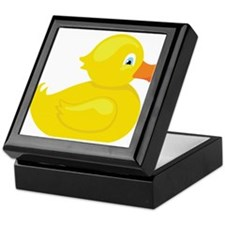Squeaky Duck Keepsake Box
