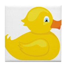 Squeaky Duck Tile Coaster