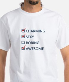 Charming, Sexy and Awesome T-Shirt
