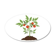 Tomato Plant Wall Decal