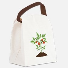 Tomato Plant Canvas Lunch Bag