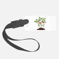 Tomato Plant Luggage Tag