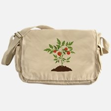 Tomato Plant Messenger Bag
