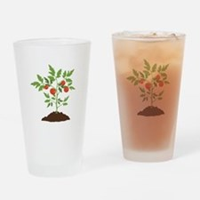 Tomato Plant Drinking Glass
