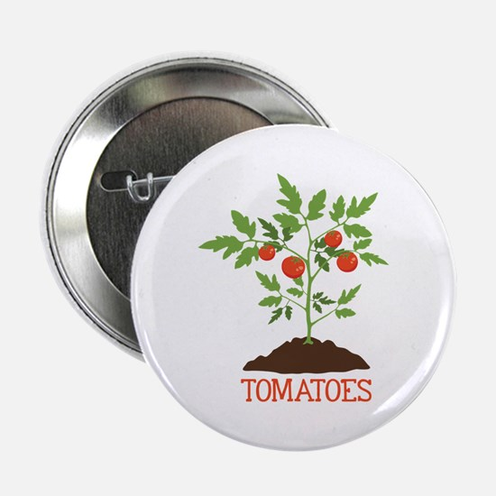"""TOMATOES 2.25"""" Button"""