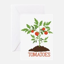 TOMATOES Greeting Cards