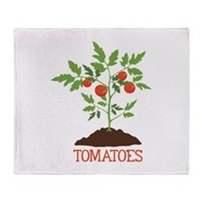 TOMATOES Throw Blanket
