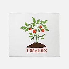 TOMATOES Throw Blanket