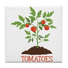 TOMATOES Tile Coaster