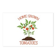 HOME GROWN TOMATOES Postcards (Package of 8)