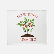 HOME GROWN TOMATOES Throw Blanket