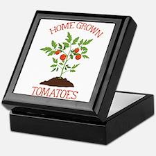HOME GROWN TOMATOES Keepsake Box