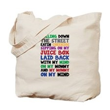 Gangster Baby Rolling Down The Street Tote Bag