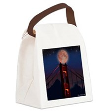 Golden Gate Bridge Canvas Lunch Bag