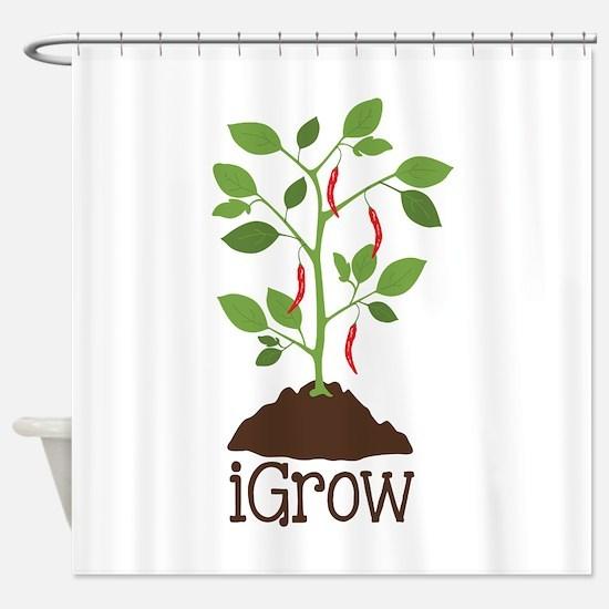 iGrow Shower Curtain