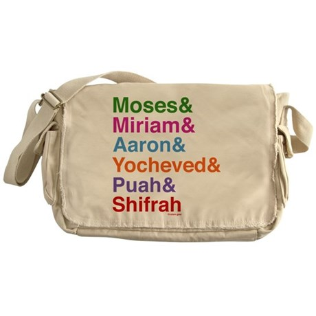 Passover Heroes Names Messenger Bag