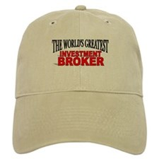 """The World's Greatest Investment Broker"" Baseball Cap"