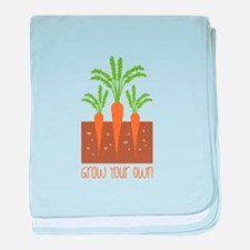 Grow Your Own baby blanket
