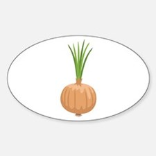 Onion with Leaves Decal
