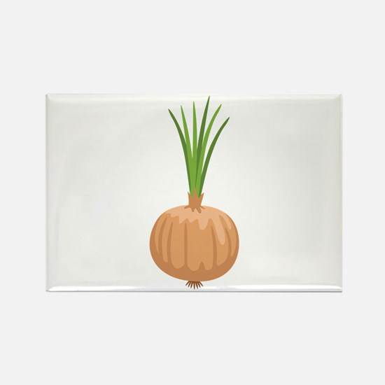 Onion with Leaves Magnets