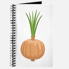 Onion with Leaves Journal