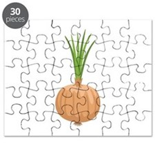 Onion with Leaves Puzzle