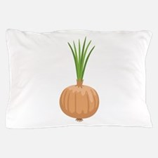 Onion with Leaves Pillow Case
