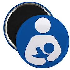 "Universal Breastfeeding Symbol 2.25"" Magnet (100 p"