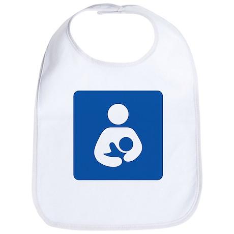 Universal Breastfeeding Symbol Bib