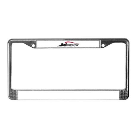 Company Logo License Plate Frame