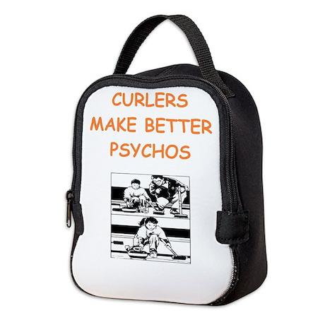 curler Neoprene Lunch Bag