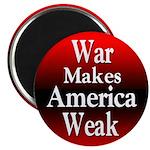 100 Bulk Anti-War Refrigerator Magnets