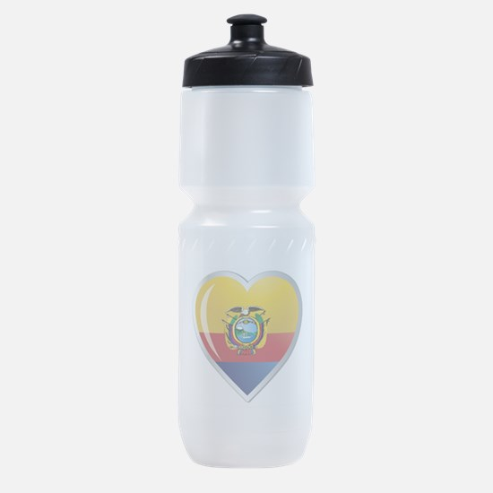 C ECUADOR 0.png Sports Bottle
