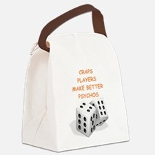 craps Canvas Lunch Bag