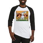 Angels & Bull Terrier #1 Baseball Jersey